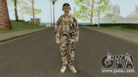 Chinese Peoples Liberation Army (Type 07 Desert) for GTA San Andreas