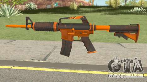 CS:GO M4A1 (Alloy Orange Skin) for GTA San Andreas