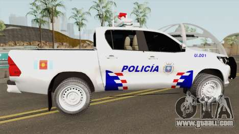 Toyota Hilux Policia de Santiago del Estero for GTA San Andreas