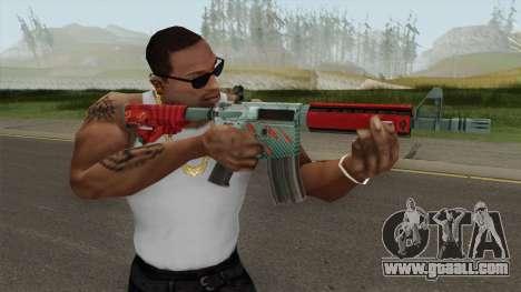 CS-GO M4A4 Bullet Rain for GTA San Andreas