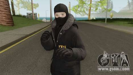 Admin Skin Textured for GTA San Andreas