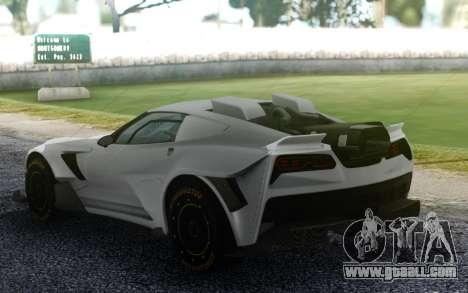 Chevrolet Corvette for GTA San Andreas