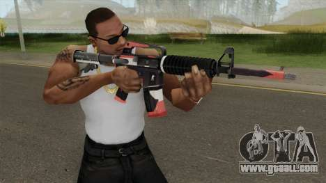 CS:GO M4A1 (Cyrex Skin) for GTA San Andreas
