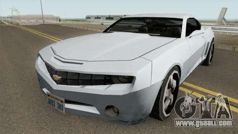 Chevrolet Camaro SS 2006 (SA Style) for GTA San Andreas
