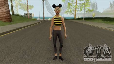 Bumblebee From Young Justice V2 for GTA San Andreas