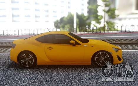 Toyota 86 for GTA San Andreas