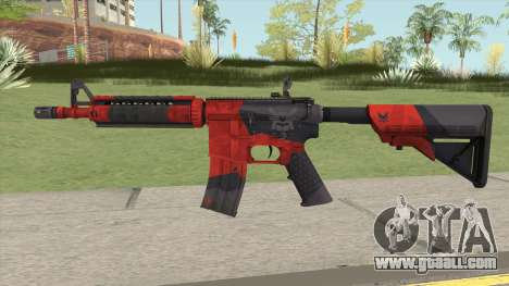 CS-GO M4A4 Evil Daimyo for GTA San Andreas