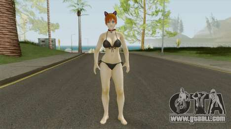 Honoka Kitten Bombay DOAXVV (Cat Woman Style) for GTA San Andreas