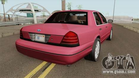 Ford Crown Victoria Civil for GTA San Andreas