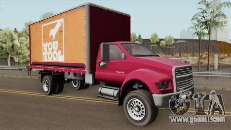 Vapid Yankee 2nd GTA V for GTA San Andreas