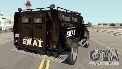 NFS MW 2012 SWAT Van for GTA San Andreas