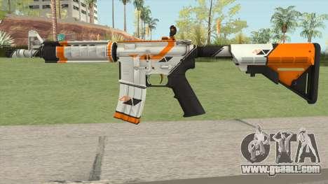 CS-GO M4A4 Asiimov for GTA San Andreas