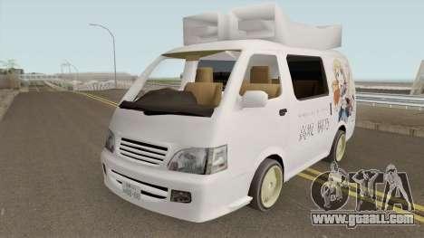 Toyota Hiace 2004 (Anime Gaisensha) for GTA San Andreas