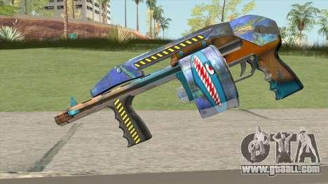 Shotgun (Monster Skin) for GTA San Andreas