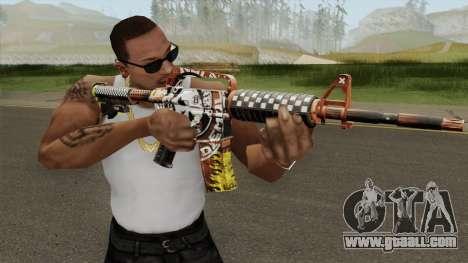 CS:GO M4A1 (Demolition V1 Skin) for GTA San Andreas