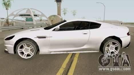 Aston Martin DB9 Low Poly for GTA San Andreas