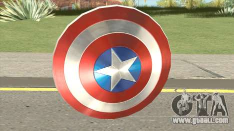 Captain America Shield for GTA San Andreas
