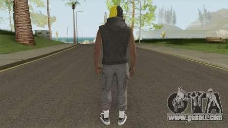 Skin Random 7 (XXXTentacion) for GTA San Andreas