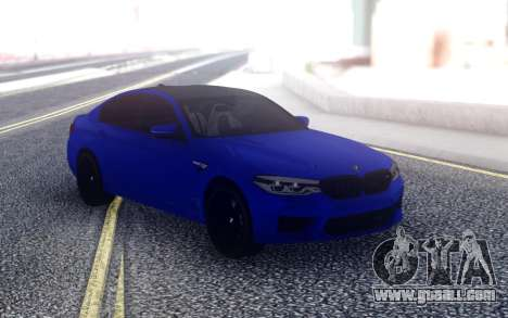 BMW М5 F90 for GTA San Andreas