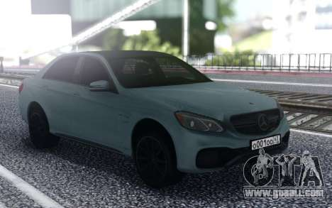 Mercedes-Benz AMG E63 4MATIC Sedan for GTA San Andreas