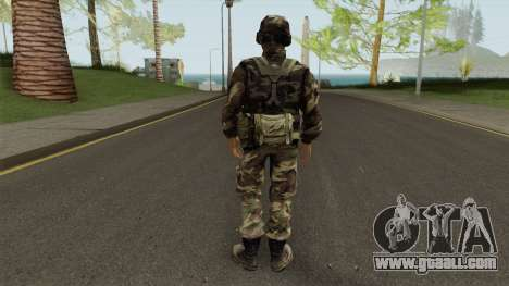 CJ Militar for GTA San Andreas