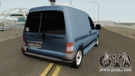 Peugeot Partner Mk1 Furgon 1996 for GTA San Andreas