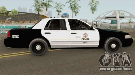 Ford Crown Victoria LAPD 2003 for GTA San Andreas