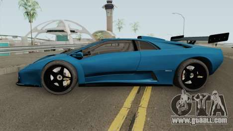 Lamborghini Diablo GT-R HQ 1999 for GTA San Andreas