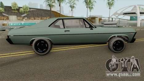 Declasse Vamos GTA V (Custom Bonnet) for GTA San Andreas
