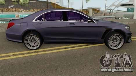 Mercedes-Benz B850 W222 for GTA San Andreas