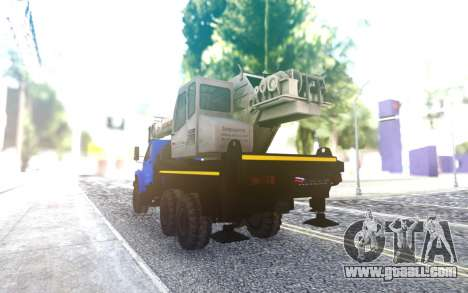 Ural Next To The Crane for GTA San Andreas