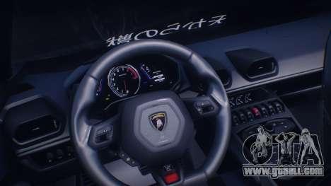Lamborghini Huracan Rocket Bunny for GTA San Andreas