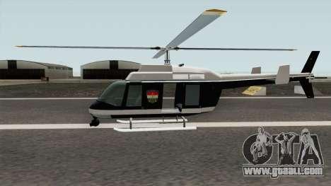 Hungarian Police Maverick (Magyar Rendorhelikop) for GTA San Andreas
