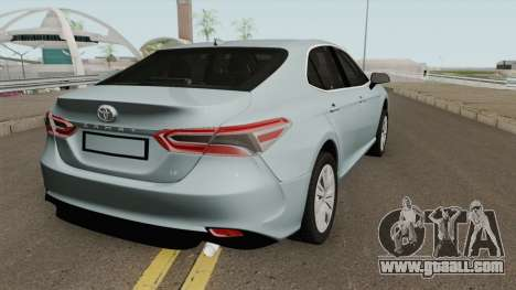Toyota Camry 2019 LE for GTA San Andreas