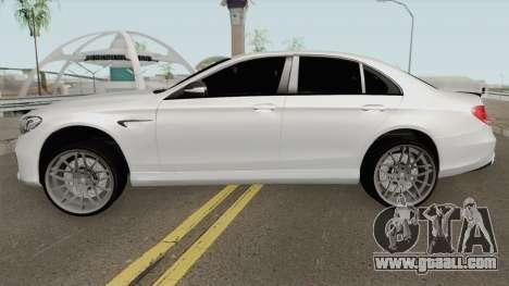 Mercedes-Benz E63S AMG for GTA San Andreas