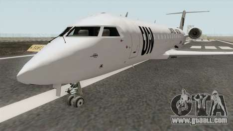 Bombardier CRJ-200 United Nations for GTA San Andreas