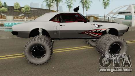 Pontiac Firebird Off Road Shark 1968 for GTA San Andreas