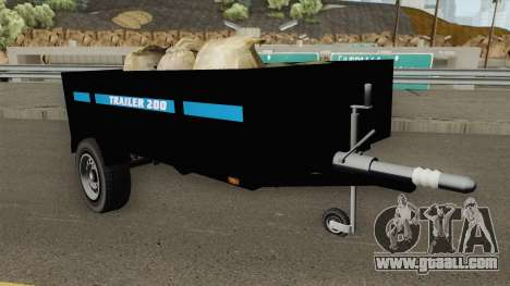 Utility Trailer GTA V for GTA San Andreas