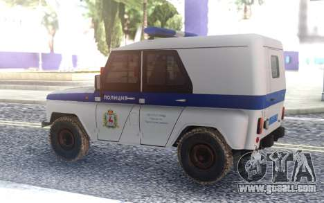 UAZ 3151 Police for GTA San Andreas