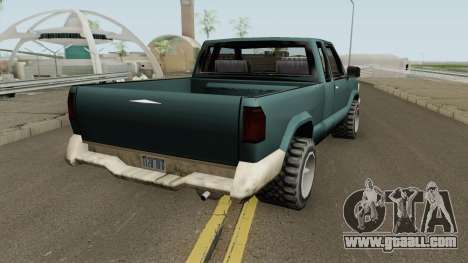 Chevrolet S10 Low Poly Improved Version for GTA San Andreas