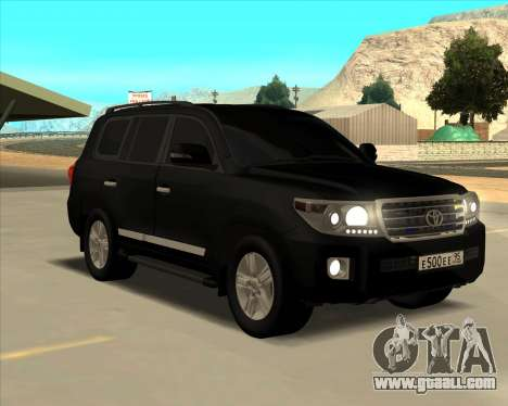 Toyota Land Cruiser 200 2013 for GTA San Andreas