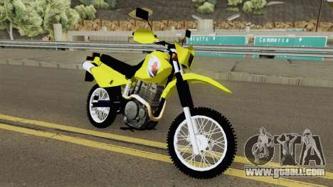 Suzuki DR 650 for GTA San Andreas