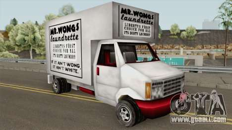 Mr Wongs Laundry Truck (GTA III) for GTA San Andreas