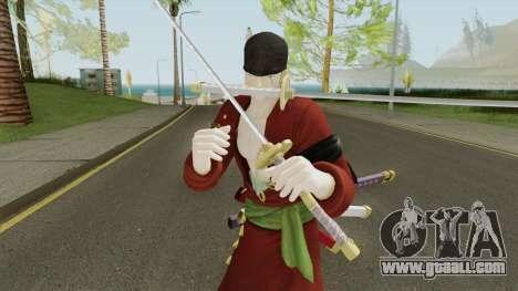 Roronoa Zoro V2 (One Piece Pirate Warrior 3) for GTA San Andreas