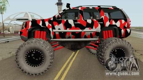 GMC Yukon Monster Truck Camo 2008 for GTA San Andreas
