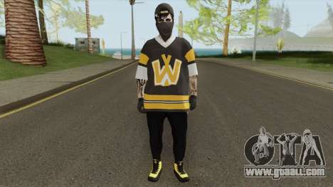 Skin Random 152 (Outfit Arena War) for GTA San Andreas