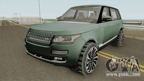 Range Rover SV Autobiography for GTA San Andreas