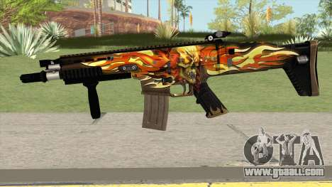Scar-L Skull for GTA San Andreas