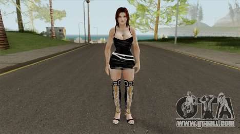 Tina Slutty Dress for GTA San Andreas