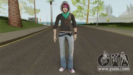 Sis From Alpha Protocol for GTA San Andreas
